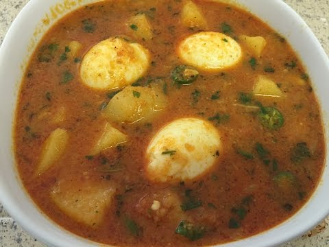 Potato and Egg Curry