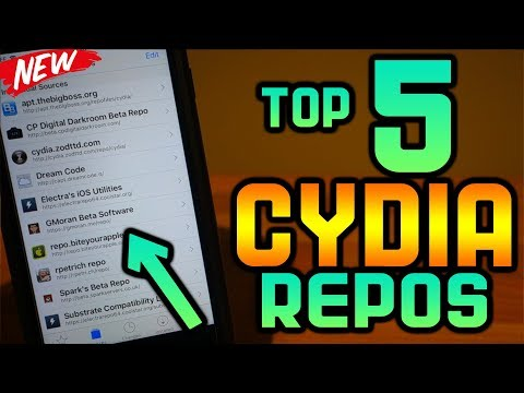 Top 5 BEST Cydia Repos & Sources For Electra iOS 11-11.1.2 Jailbreak Tweaks iPhone iPad iPod