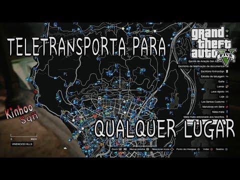 GTA V Online - Bug de teletransportar para qualquer lugar do mapa (PS3,PS4,XBOX360,XBOXONE,PC)