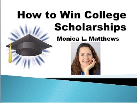 How to Find and Win Great Scholarships