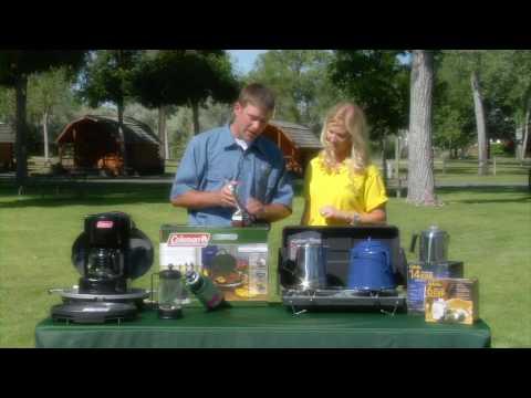 KOA and Cabela's Talk Camping Coffee