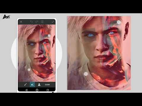 basic pic change to tumblr by picsart editing app #editingtech