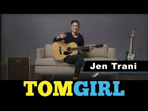 Guitarist & Fender Play Instructor, Jen Trani Teaches You How To Play Guitar | TomGirl Episode 45