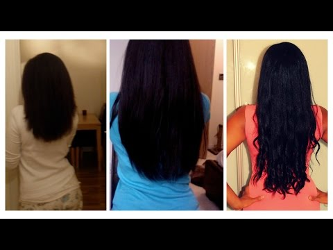 Super Hair Growth Oil DIY recipe | Before and After footage