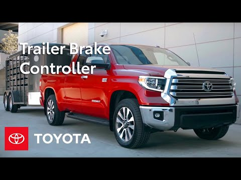 Toyota How-To: Toyota Tundra Integrated Trailer Brake Controller   Toyota