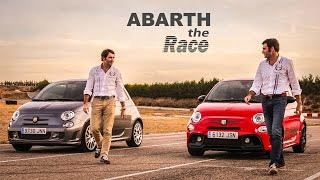 The Race: Abarth 595 Competizione 2016 vs 2015 - ¡Acción y adrenalina en circuito!