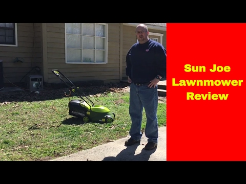 Sun Joe Electric Lawnmower Assembly and Review