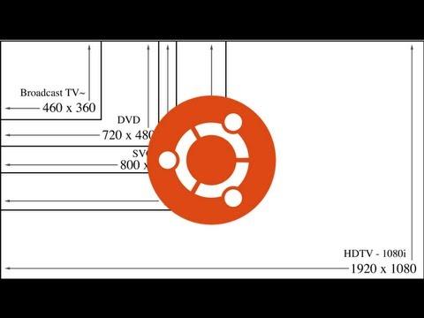 How to change the screen resolution in Ubuntu