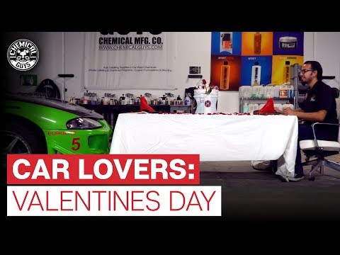 How Car Lovers Spend Valentine's Day | Show Your Ride Some Love! | Chemical Guys [GIVEAWAY]