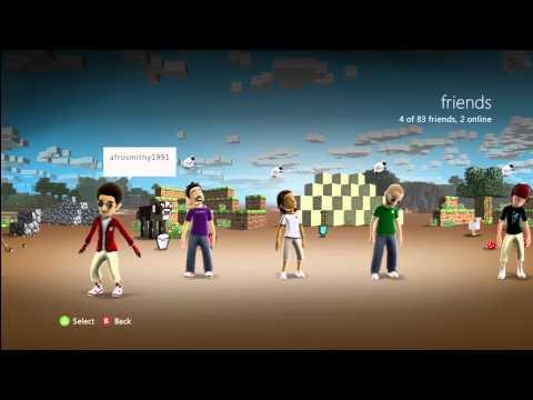 Free Premium Minecraft Xbox 360 Theme 'Minecraft Wood'