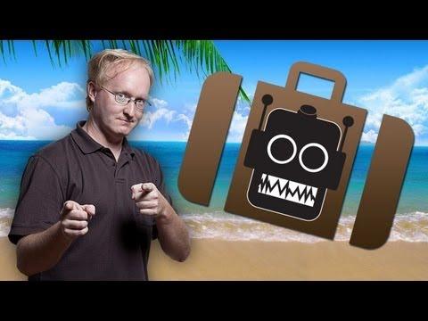 Make Your Suitcase Haul Itself Around with Robot Luggage!