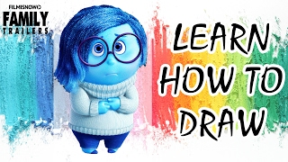 INSIDE OUT: Learn how to draw Sadness