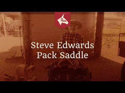 A Pack Saddle for Mules and Donkeys