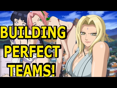 HOW TO BUILD THE BEST TEAM AND TEAM COMBO | NARUTO ONLINE GUIDE