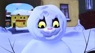 Download Белка и Стрелка - Новогодние мультики - Настоящий Дед Мороз, Куда улетают елки и другие серии подряд Video