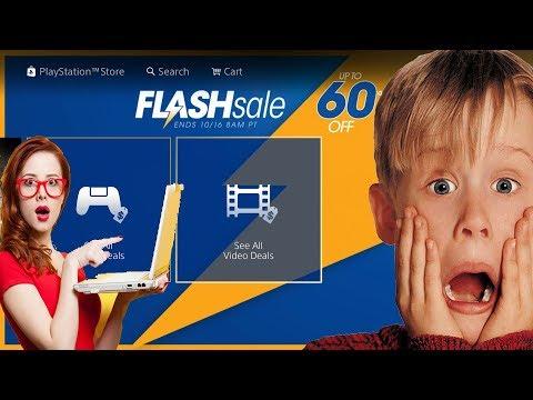PS4 FLASH SALE ON PSN Friday 13th