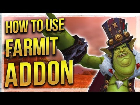WoW: How to Use & Setup Farmit - Addon Guide