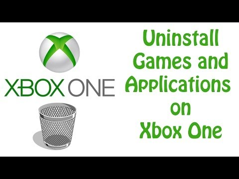 Xbox One Tutorial -  How To Uninstall Games and Applications