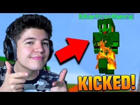 HACKER KICKED FOR FLYING!! | Minecraft MICRO BATTLES #51
