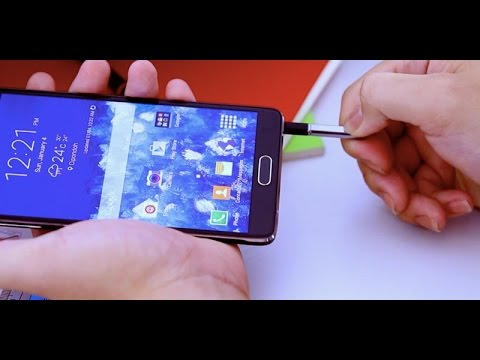 S-Pen Samsung Galaxy Note 4 - Review Indonesia