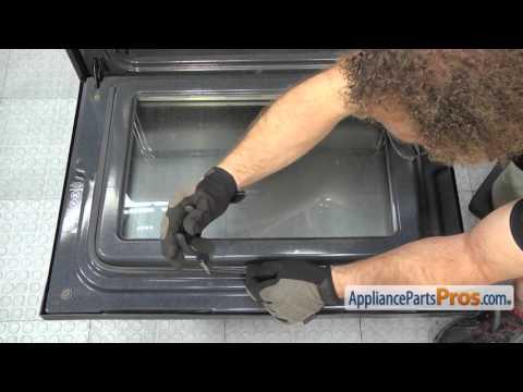 Range Oven Door Seal (part #316239700) - How To Replace