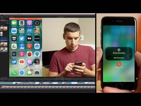 How to Embed iPhone Screen Recording into a video!