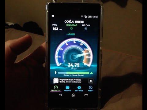 4G LTE vs 3G - AT&T - Speed Test