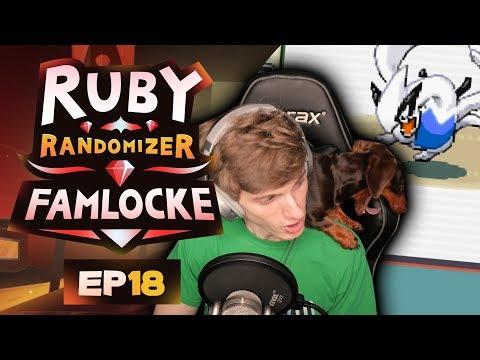 LEGENDARY ENCOUNTER & 8TH GYM! | Pokemon Ruby Randomizer Famlocke EP 18