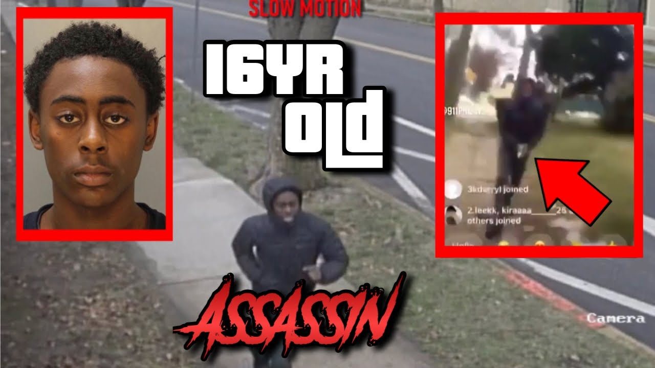 16YR OLD PHILLY ASSASSIN HIT WITH 4 BODIES, KILLED MAN ON INSTA LIVE