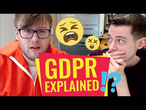 GDPR Explained Simply - All you need to know in 5 minutes [FUN]