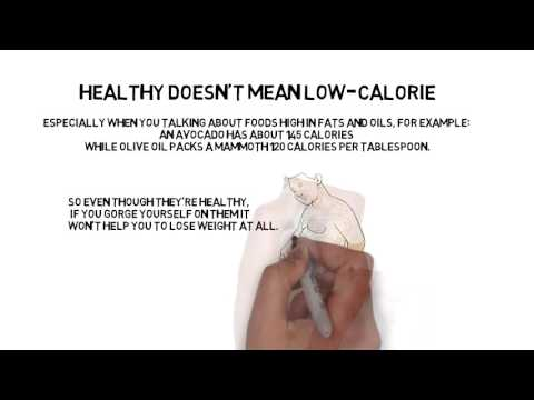 Healthy doesn't mean Low Calorie - Loseweightverygfast