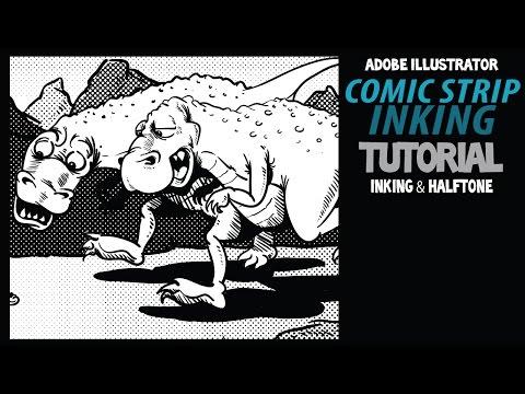 How to Ink Comic Strips in Adobe Illustrator