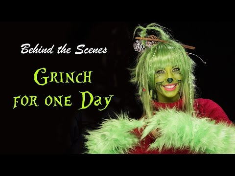Grinch Cosplay – Makeup and styling