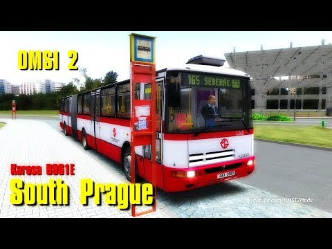 OMSI 2 BUS SIMULATOR – SOUTH PRAGUE • Karosa B 961E [line165
