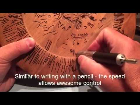 Wood Carving with the NSK Presto High Speed Handpiece