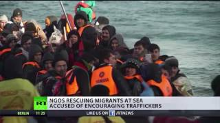 NGOs rescuing migrants accused of encouraging traffickers