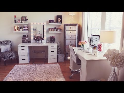 Beauty Room Tour / Makeup Collection | Jaclyn Hill