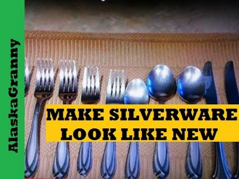 Make Your Silverware Look Brand New
