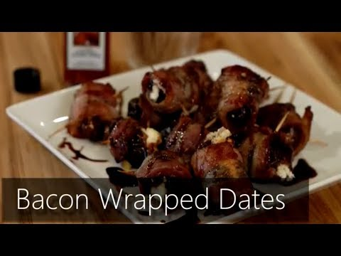 Foodie with a Life - Bacon Wrapped Dates