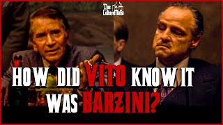 How did Vito Corleone know it was Barzini all along?