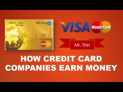 How Credit Card Companies Earn Money | Credit Card Business Model