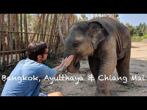 Bangkok, Ayutthaya & Chiang Mai | Thailand | Travel Vlog #8