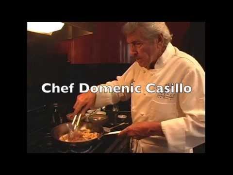 How to prepare Zucchini Flowers with Chef Domenic Casillo