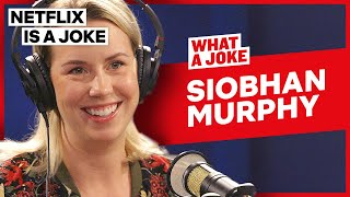 Siobhan Murphy Shoots Hallmark Christmas Movies In The Summer | What A Joke | Netflix Is A Joke