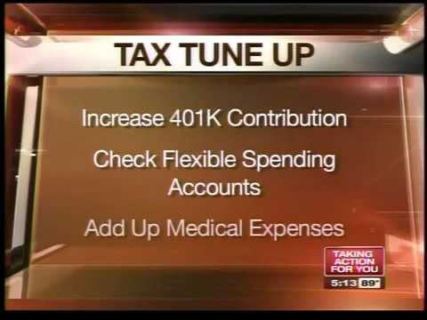 Tweak a few things so that you get a bigger tax refund
