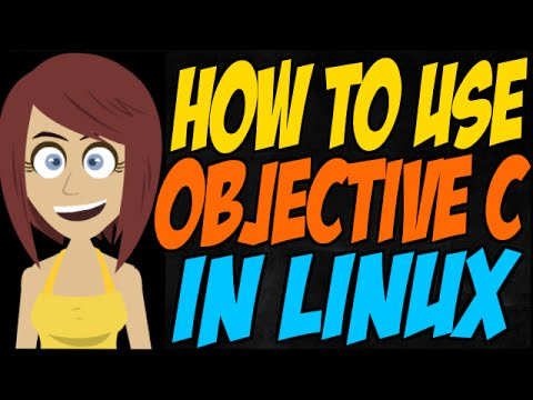 How to use Objective C in Linux