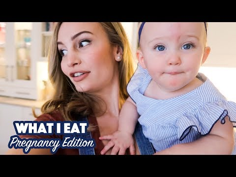 What I Eat in a Day: Pregnancy Edition
