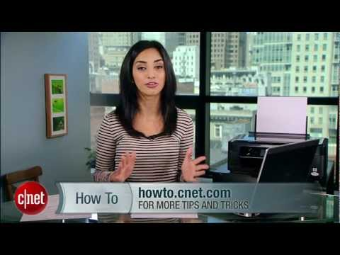 CNET How To - Print wirelessly from iPhone, iPad, or iPod Touch