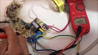 how to fix actron air e5 error