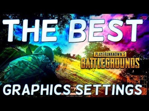 PLAYER UNKNOWN's BATTLEGROUNDS BEST GRAPHICS SETTINGS - SEE EVERYTHING - Battlegrounds BEST Settings